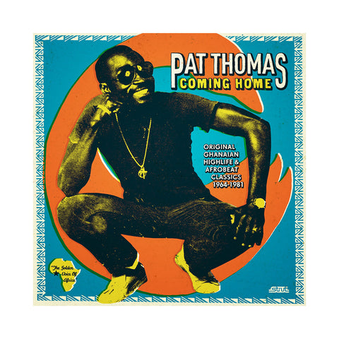 "[""Pat Thomas - 'Coming Home: Original Ghanaian Highlife & Afrobeat Classics 1967-1981' [(Black) Vinyl [3LP]]""]"