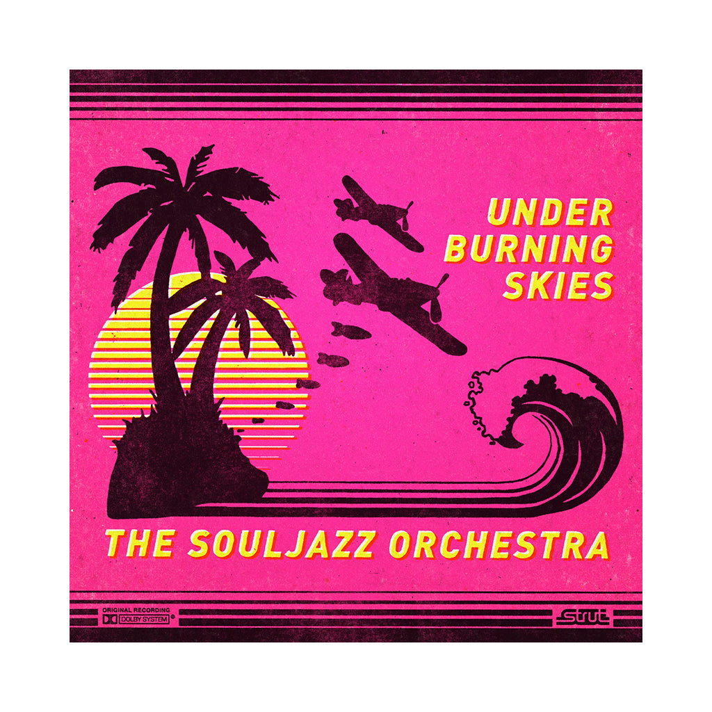 The Souljazz Orchestra - 'Under Burning Skies' [(Bright Yellow) Vinyl LP]
