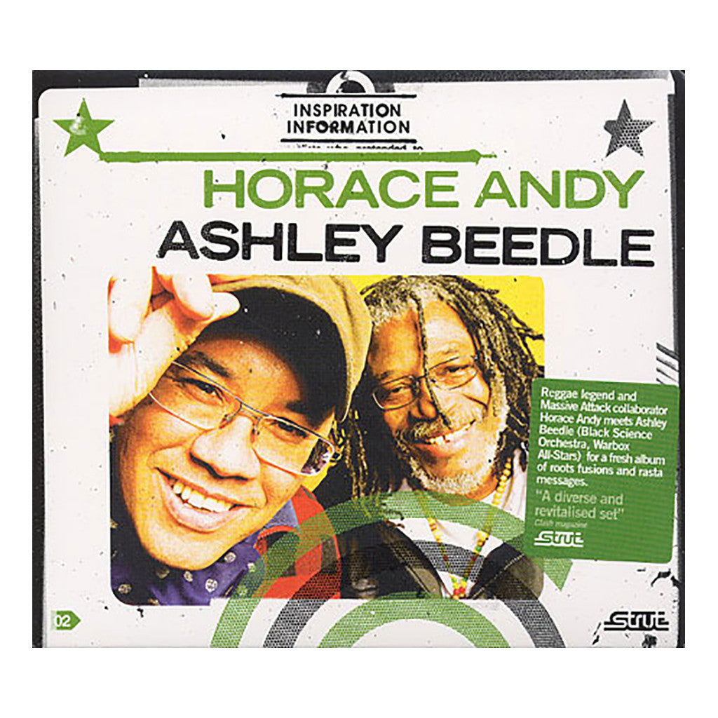 Horace Andy & Ashley Beedle - 'Inspiration Information Vol. 2' [CD]