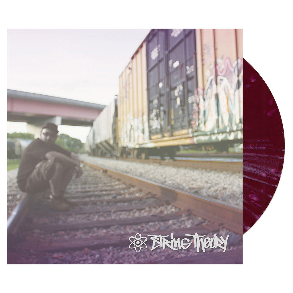 <!--2014050608-->String Theory - 'String Theory' [(Purple w/ White Splatter) Vinyl LP]