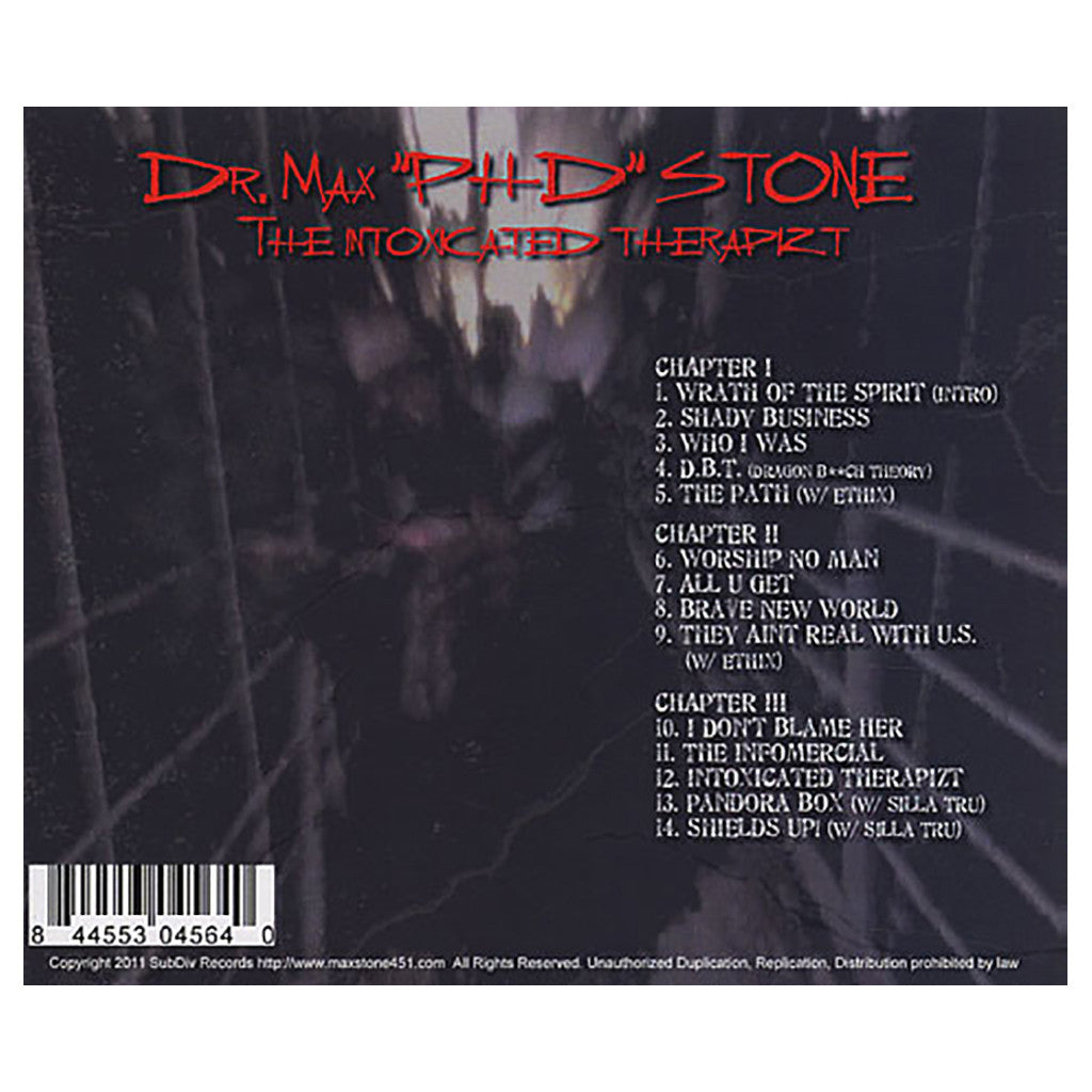 <!--2011021522-->Dr. Max Stone - 'R.O.K.O.N. (Rotation Of Knowledge Over Night)' [CD]