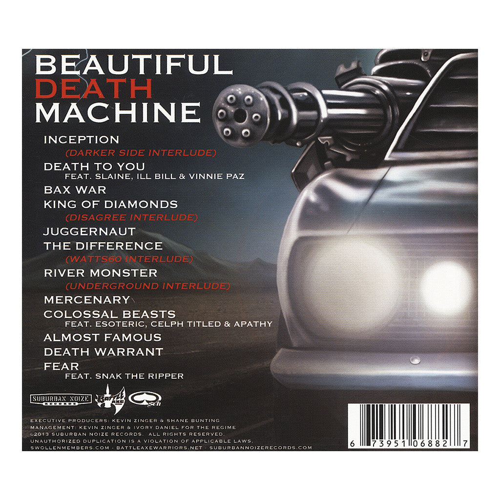 Swollen Members - 'Beautiful Death Machine' [CD]