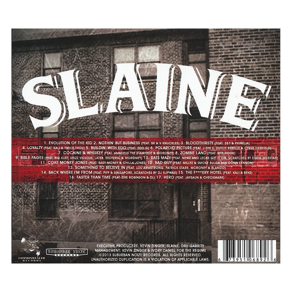 <!--2013041630-->Slaine - 'The Boston Project' [CD]