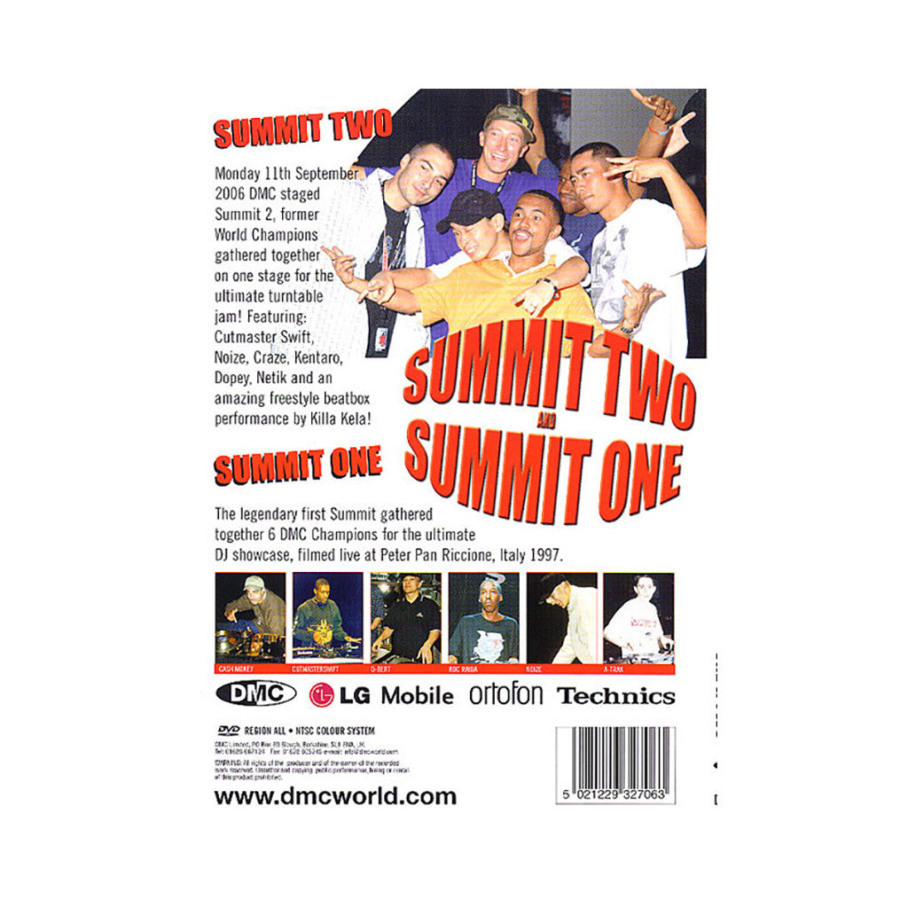 <!--020080527013921-->DMC & Technics - 'The Summit 1 & 2 (1997 & 2006)' [DVD]