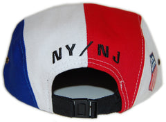 <!--020130129053522-->Sun Cycle Limited - '1988 - Red/ White' [(Blue) Five Panel Camper Hat]