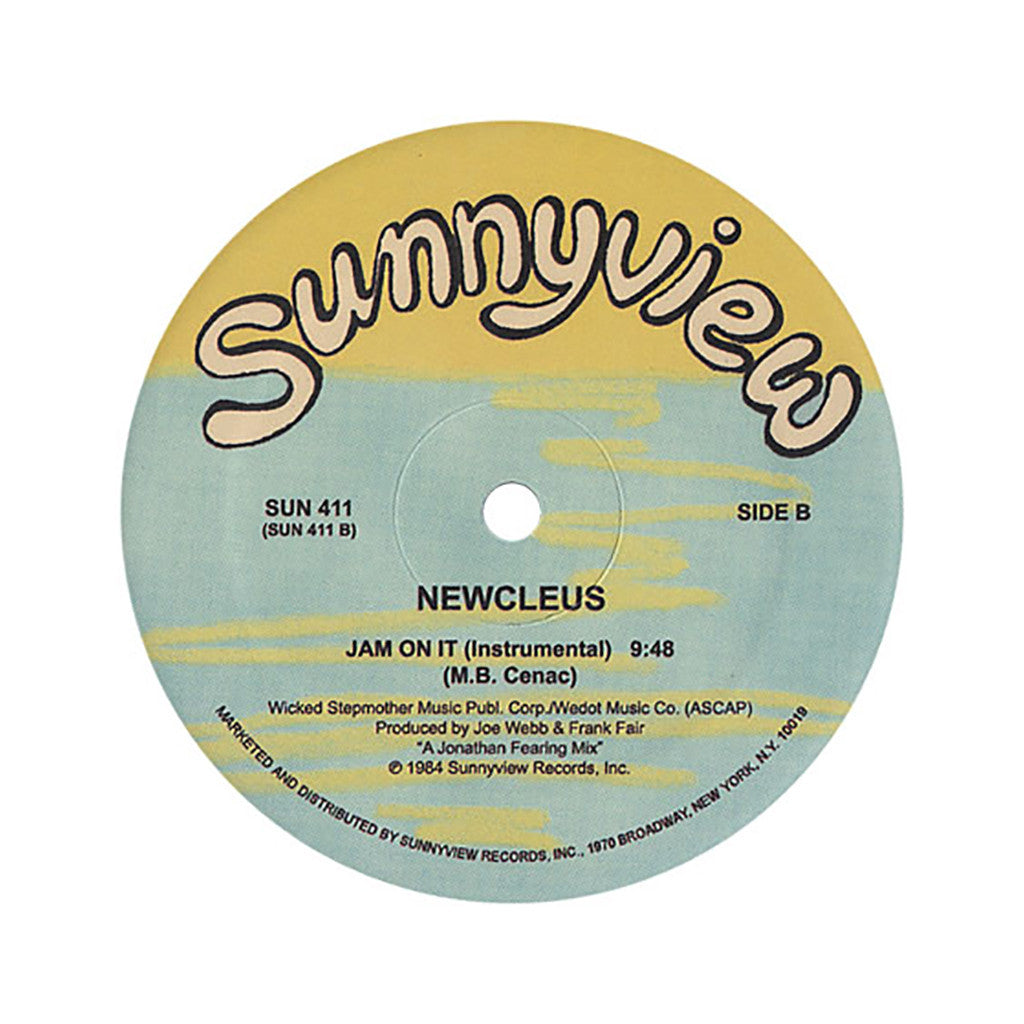 "<!--019840101011004-->Newcleus - 'Jam On It' [(Black) 12"" Vinyl Single]"