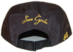 <!--020130326055142-->Sun Cycle Limited - 'Nautical' [(Black) Five Panel Camper Hat]