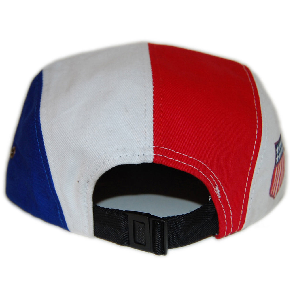 <!--020130129053519-->Sun Cycle Limited - 'USA Shield - Red/ White' [(Blue) Five Panel Camper Hat]