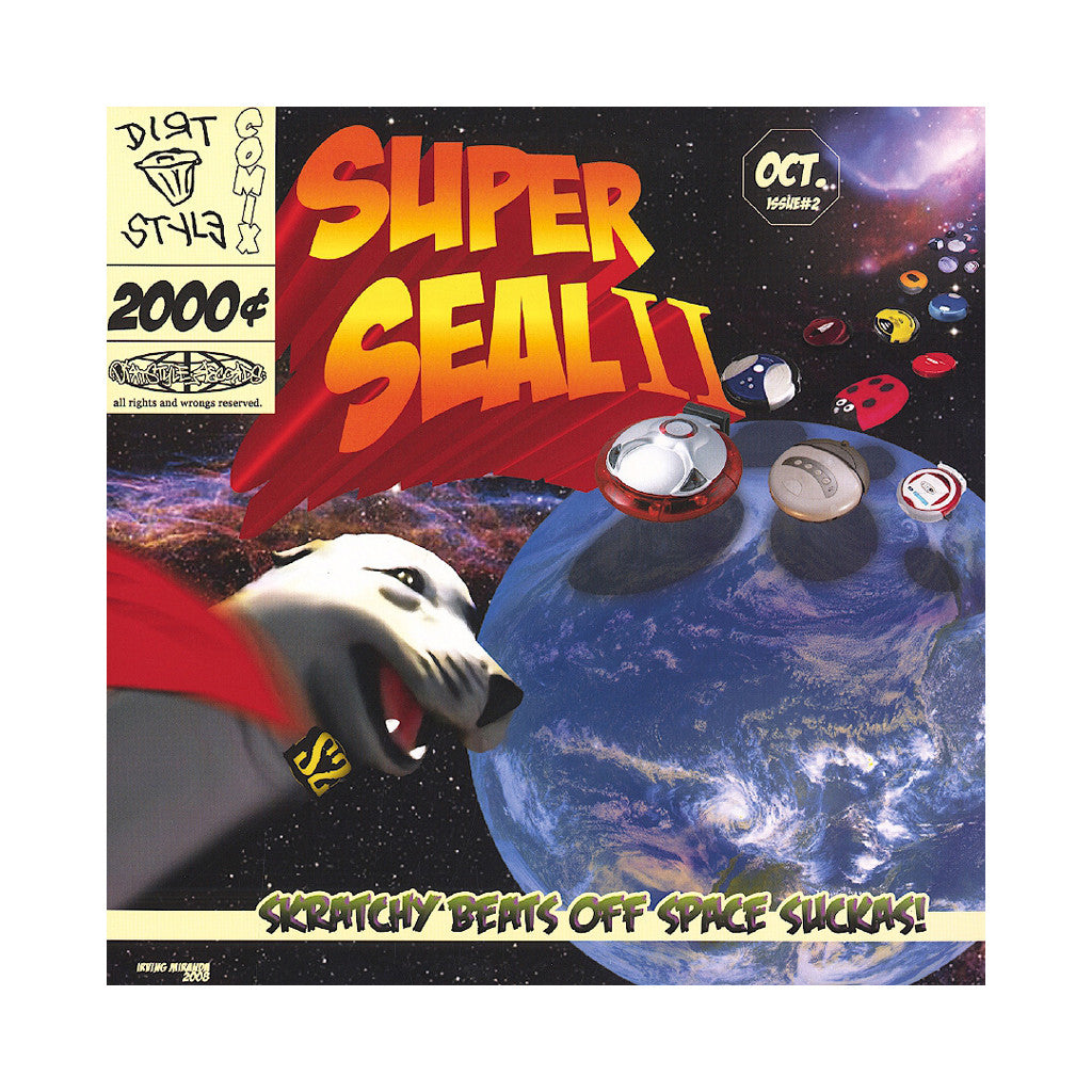 Skratchy Seal - 'Super Seal Breaks II' [(White) Vinyl LP]