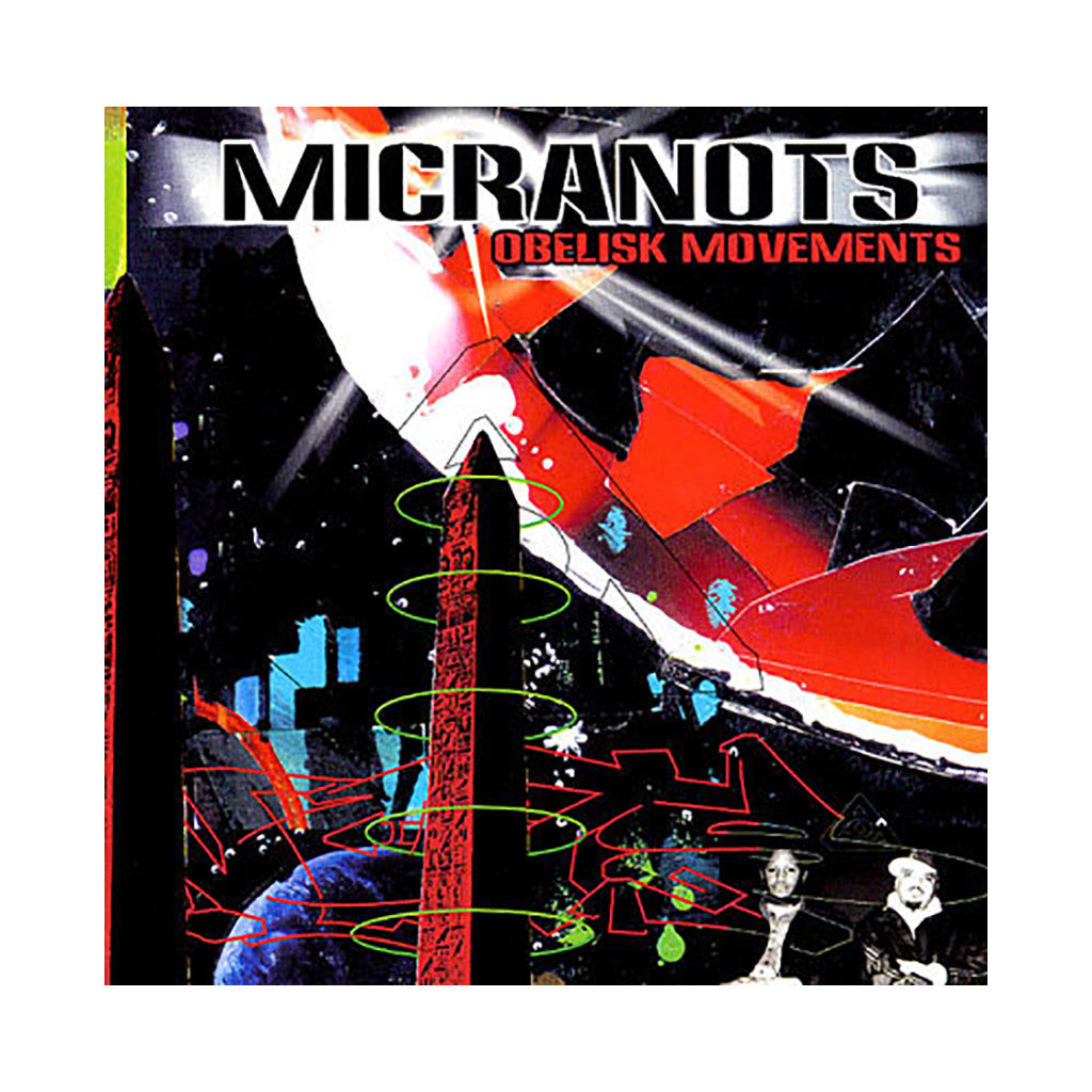 Micranots - 'Obelisk Movements' [CD]