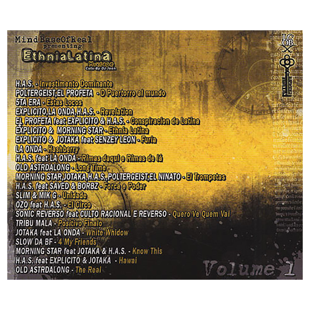 Mindbase Of Real Presents (Cuts By: DJ-Joon) - 'Ethnia Latina Mixtape Vol. 1' [CD]