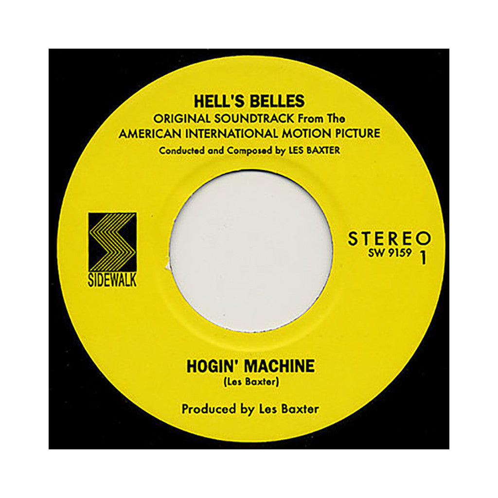 "<!--020090210016128-->Les Baxter - 'Hogin' Machine/ Hot Wind' [(Black) 7"" Vinyl Single]"