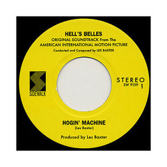 "<!--2009021015-->Les Baxter - 'Hogin' Machine/ Hot Wind' [(Black) 7"" Vinyl Single]"