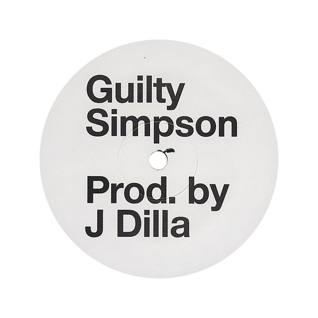 "Guilty Simpson - 'Man's World' [(Black) 12"" Vinyl Single]"