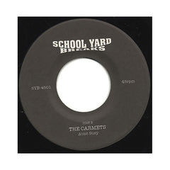 "School Yard Breaks (The Bongo Rockers, The Carmets) - 'Bongo Rock Machine/ Aunt Susy' [(Black) 7"" Vinyl Single]"