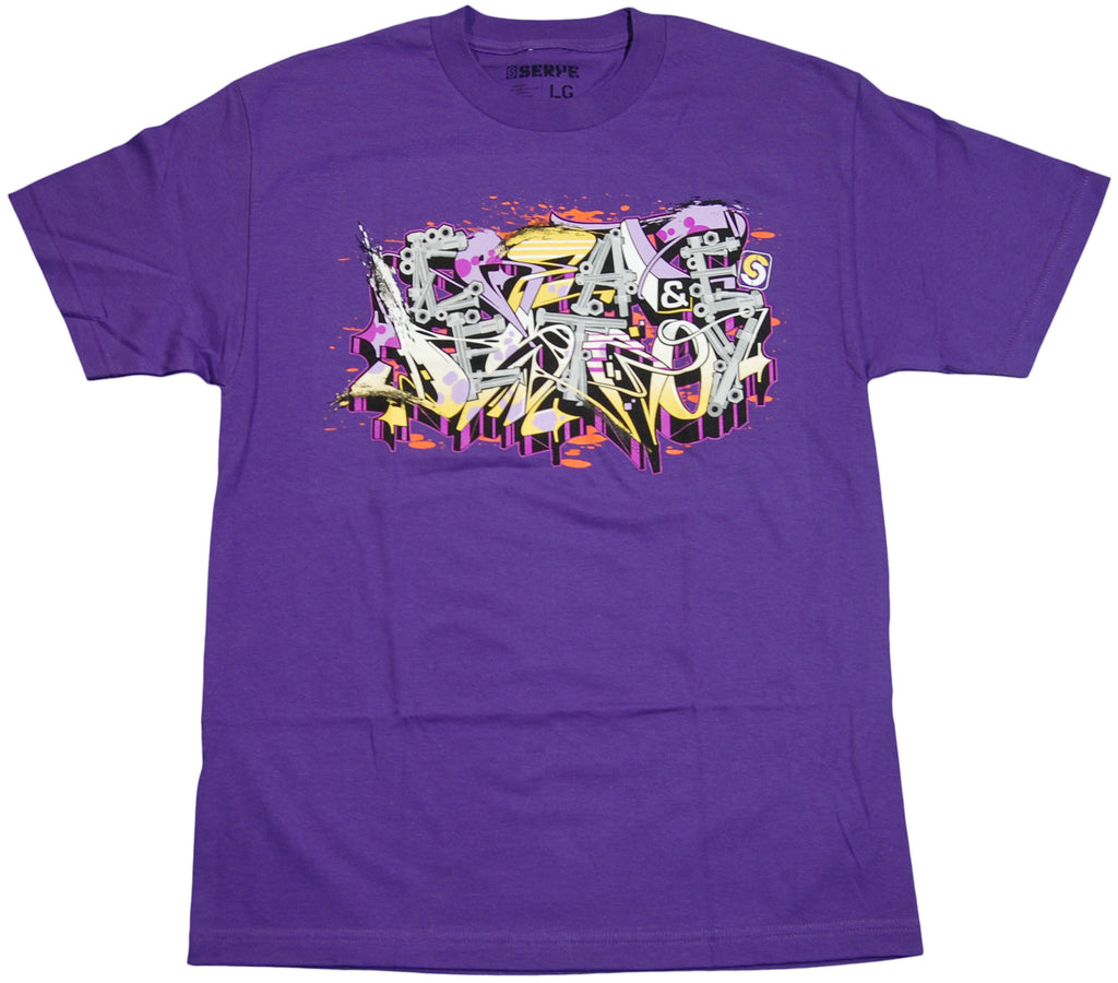 <!--2011052402-->Serye Design - 'Create And Destroy' [(Purple) T-Shirt]