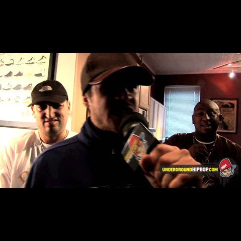 Shabaam Sahdeeq & Mr. Metaphor & Bekay - 'Cypher Pt. 1 (Live At DJ Dutchmaster's Crib - New York, NY - 4/4/09)' [Video]