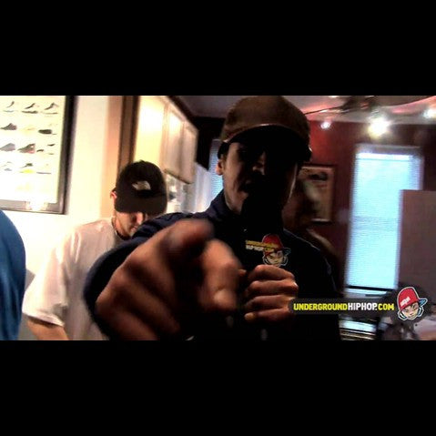 Shabaam Sahdeeq & Mr. Metaphor & Bekay - 'Cypher Pt. 2 (Live At DJ Dutchmaster's Crib - New York, NY - 4/4/09)' [Video]