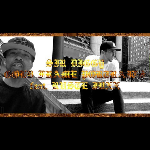 Sir Diggy - 'Gold Frame Portraits' [Video]