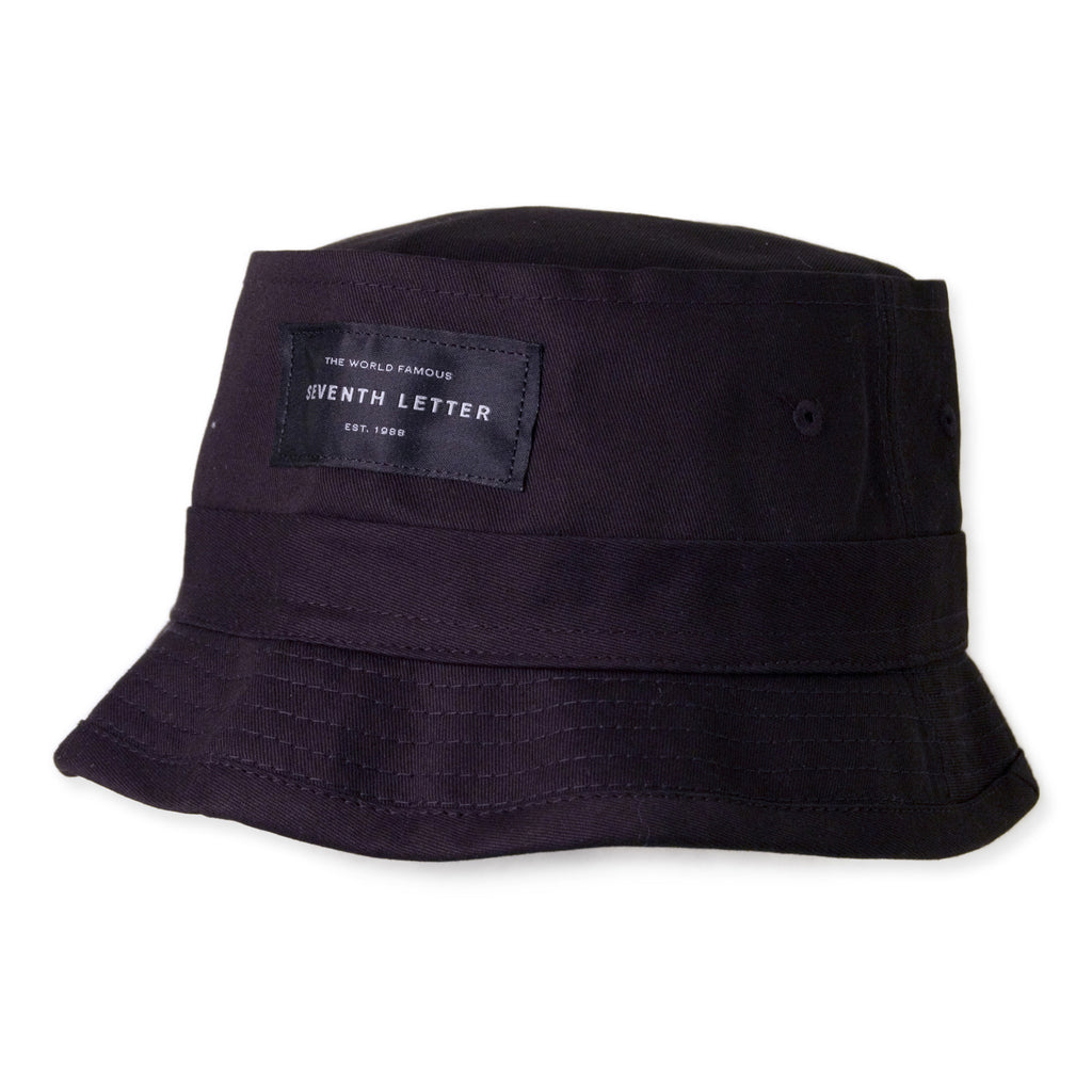 <!--2014102141-->The Seventh Letter - 'Label' [(Black) Bucket Hat]