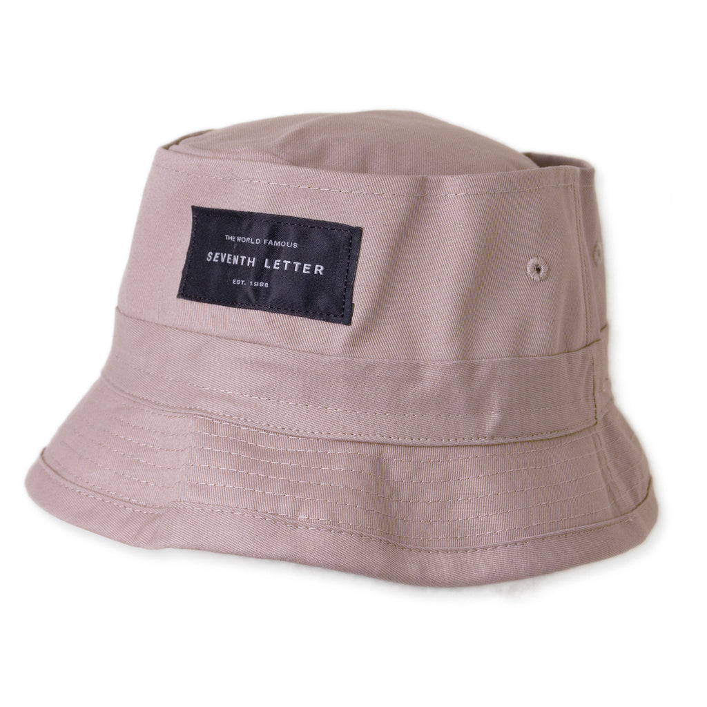 <!--2014102140-->The Seventh Letter - 'Label' [(Light Brown) Bucket Hat]