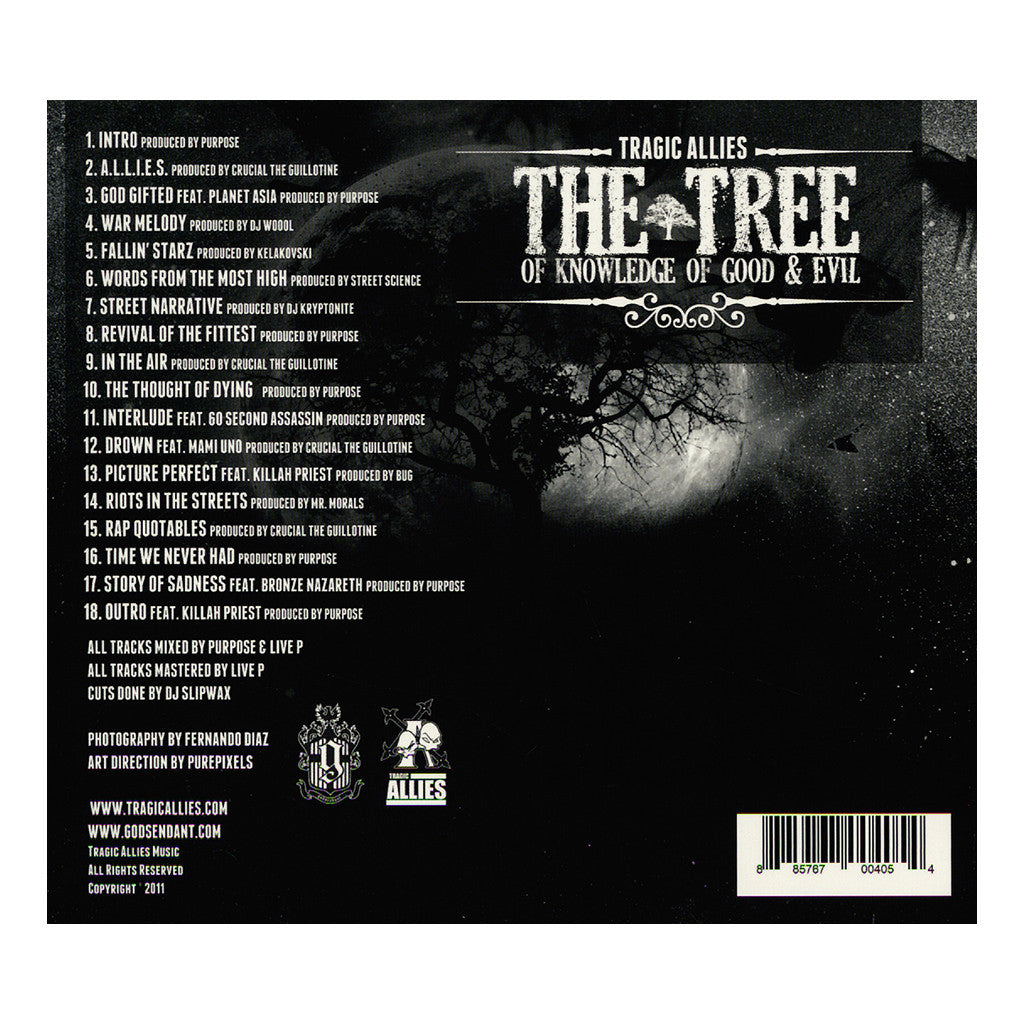 <!--020110927036643-->Tragic Allies - 'The Tree Of Knowledge Of Good And Evil' [CD]