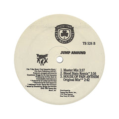 "<!--019920101010180-->House Of Pain - 'Jump Around/ House Of Pain Anthem/ Jump Around (Blood Stain Remix)' [(Black) 12"""" Vinyl Single]"