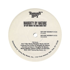 "<!--019930101005844-->Naughty By Nature - 'Hip Hop Hooray/ The Hood Comes First' [(Black) 12"""" Vinyl Single]"