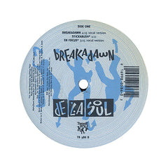 "<!--019930101005214-->De La Soul - 'Breakadawn/ En Focus' [(Black) 12"""" Vinyl Single]"