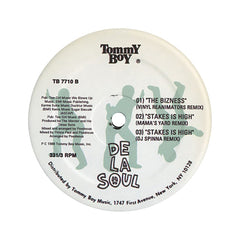 "<!--019000101012391-->De La Soul - 'The Hustle/ I Can't Call It/ Falling/ The Bizness (Remix)/ Stakes Is High (Remixes)' [(Black) 12"" Vinyl Single]"