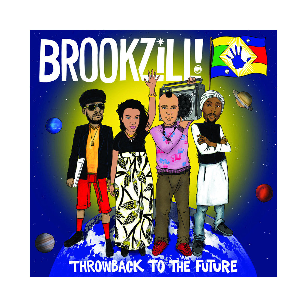 BROOKZiLL! - 'Throwback to the Future' [CD]