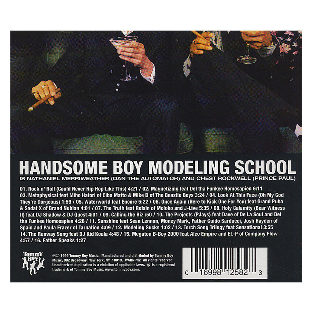 <!--019991109003198-->Handsome Boy Modeling School - 'So... How's Your Girl?' [CD]