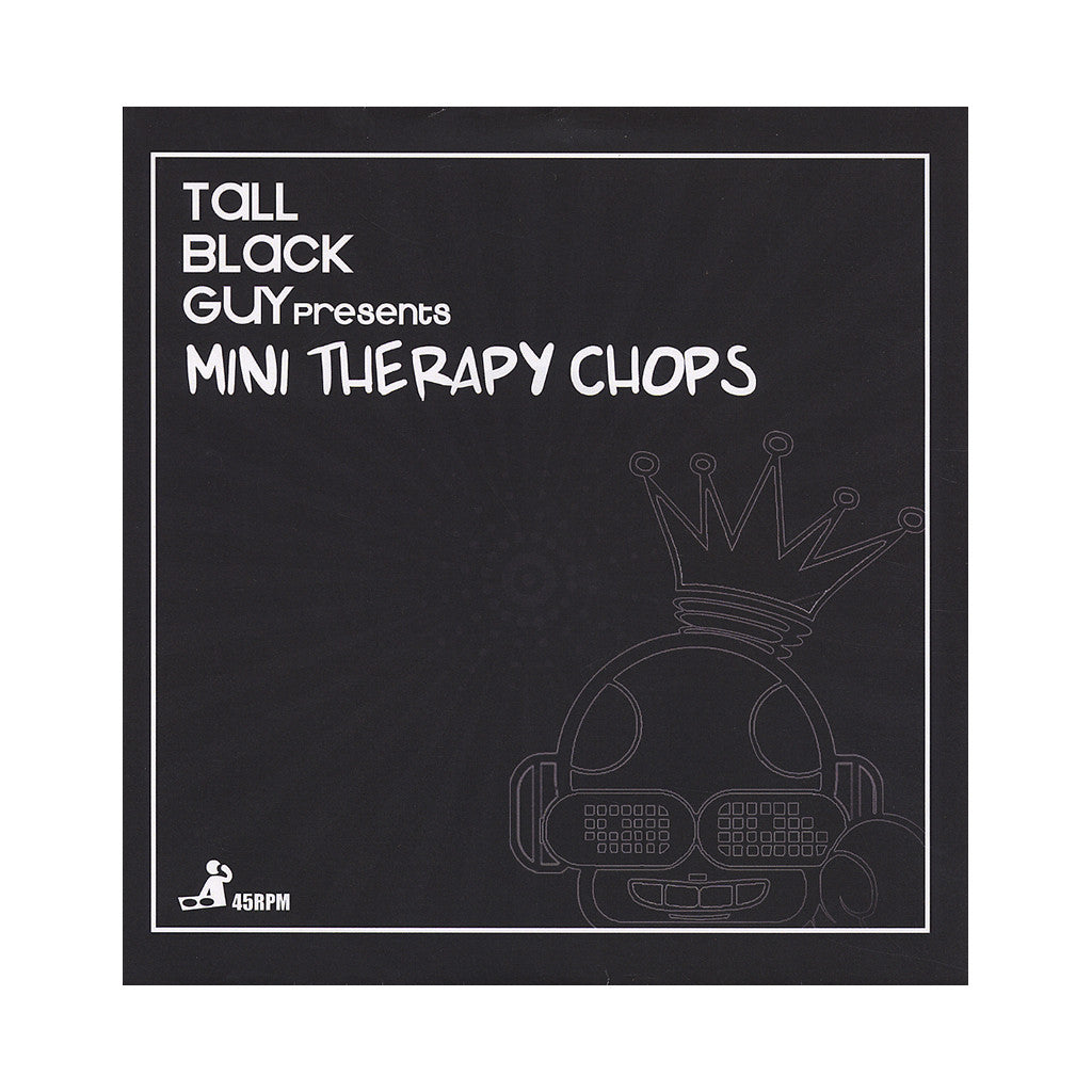 "<!--020120207040924-->Tall Black Guy - 'Mini Therapy Chops: Sweet Europe/ Love To The World' [(Black) 7"" Vinyl Single]"