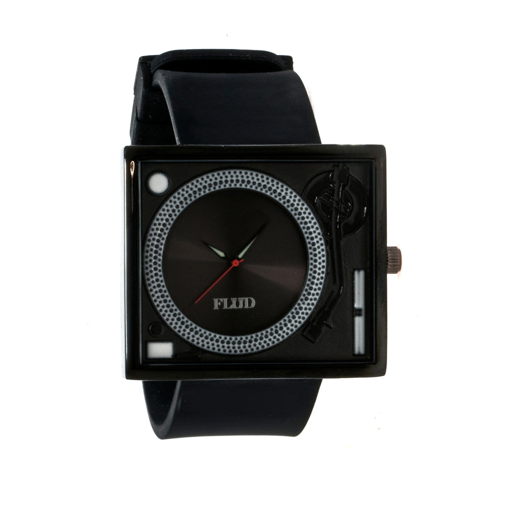 FLuD Watches - 'Tableturns - Black/ Black' [(Black) Watch]