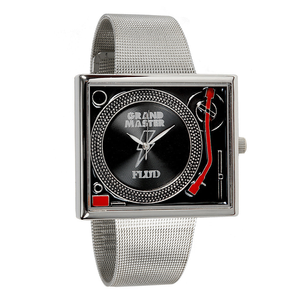 <!--020141215067726-->FLuD Watches x Grandmaster Flash - 'Tableturns - Grandmaster Flash' [(Gunmetal) Watch]