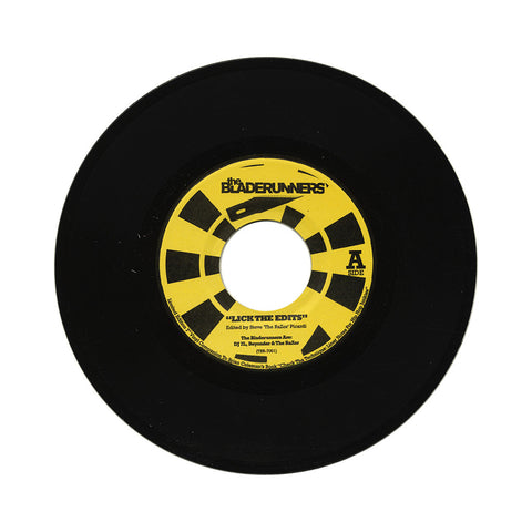 "The Bladerunners - 'Lick The Edits/ North Of The Tobin' [(Black) 7"" Vinyl Single]"