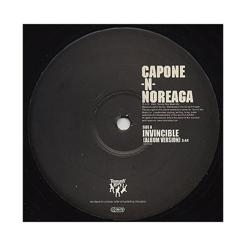 "Capone -N- Noreaga - 'Invincible/ Y'all Don't Wanna' [(Black) 12"""" Vinyl Single]"