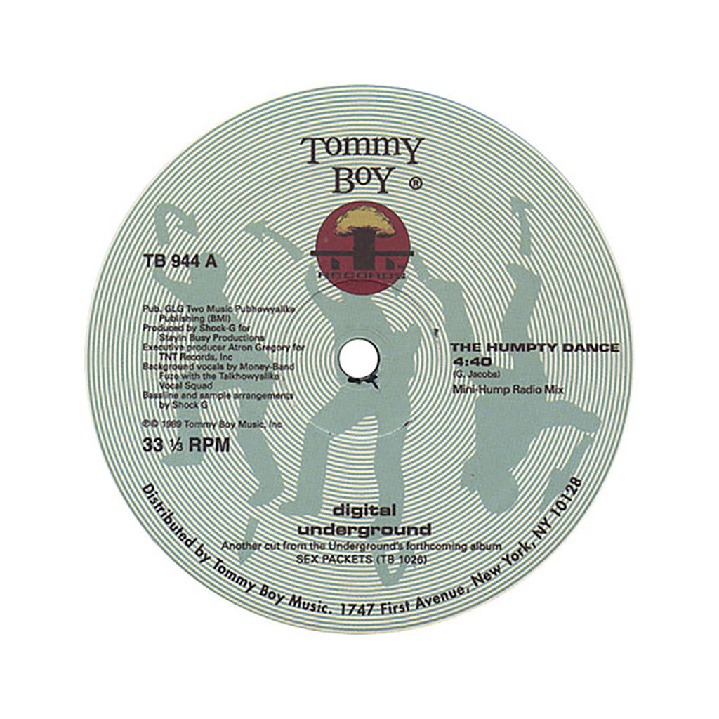 "Digital Underground - 'The Humpty Dance' [(Black) 12"" Vinyl Single]"