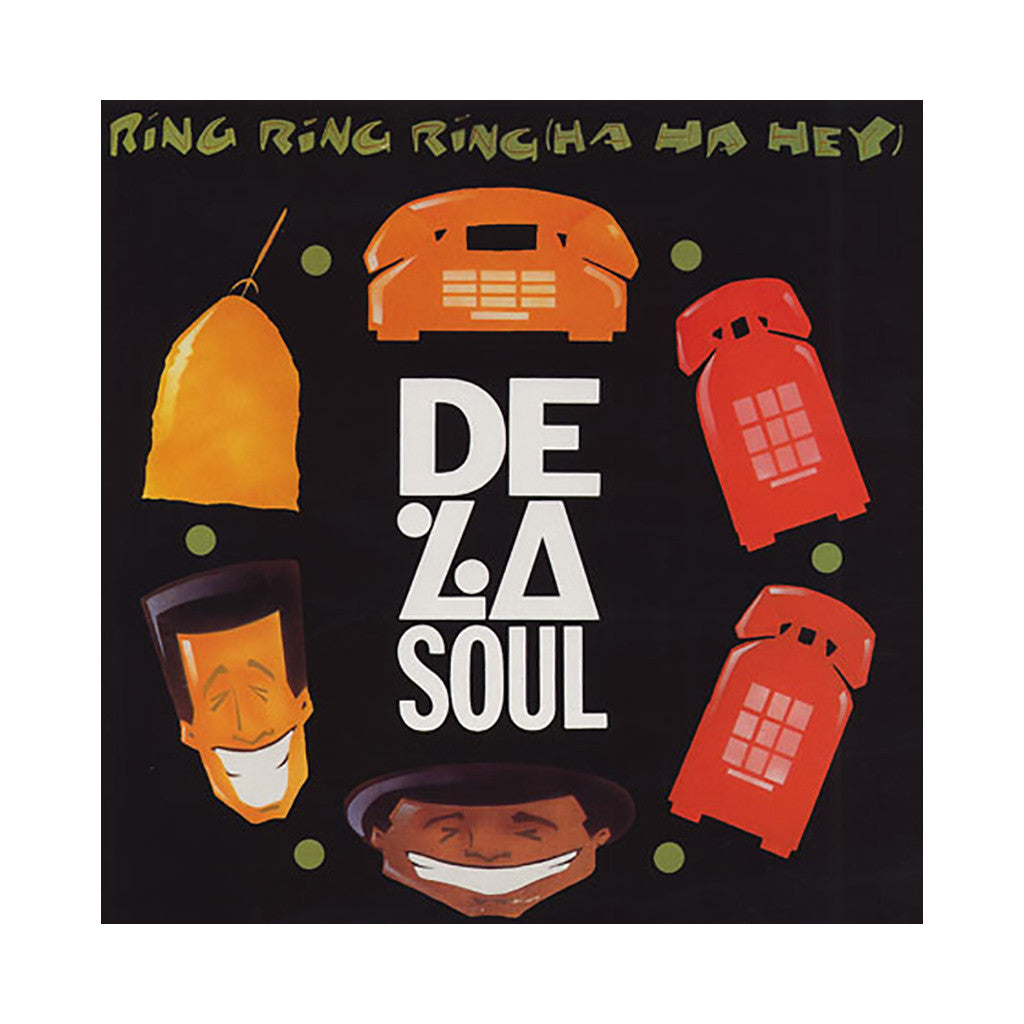 "<!--019910101004025-->De La Soul - 'Ring Ring Ring (Ha Ha Hey) (Remixes)/ Piles And Piles Of Demo Tapes Bi-Da Miles' [(Black) 12"" Vinyl Single]"