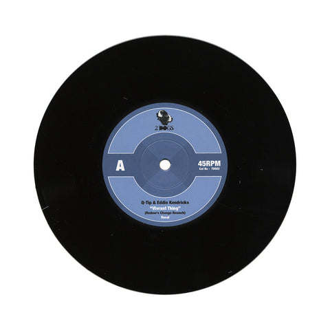 "Q-Tip x Eddie Kendrick - 'Vivrant Thing (Redmo's Change Rework)' [(Black) 7"""" Vinyl Single]"