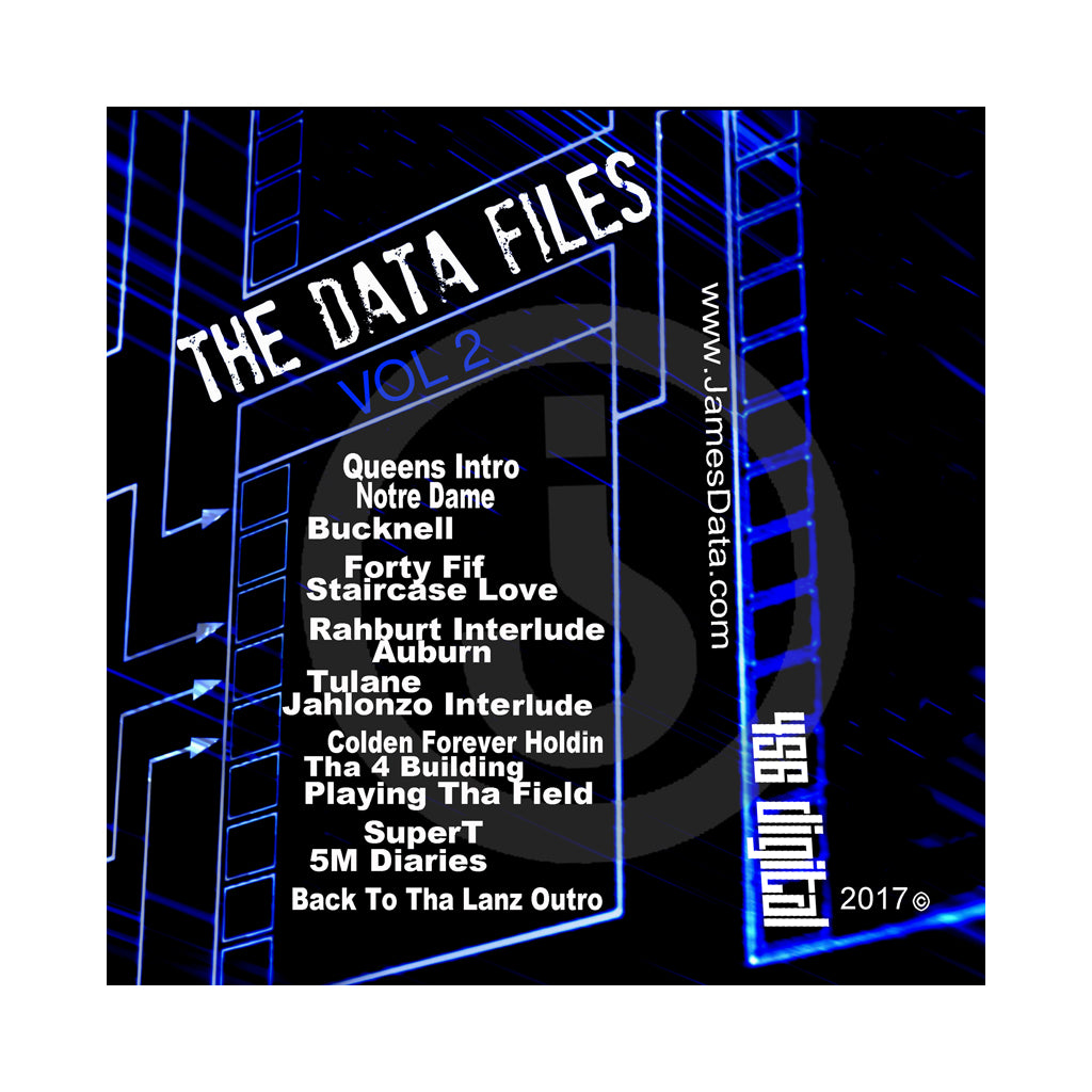 James Data - 'The Data Files Vol. 2' [CD]