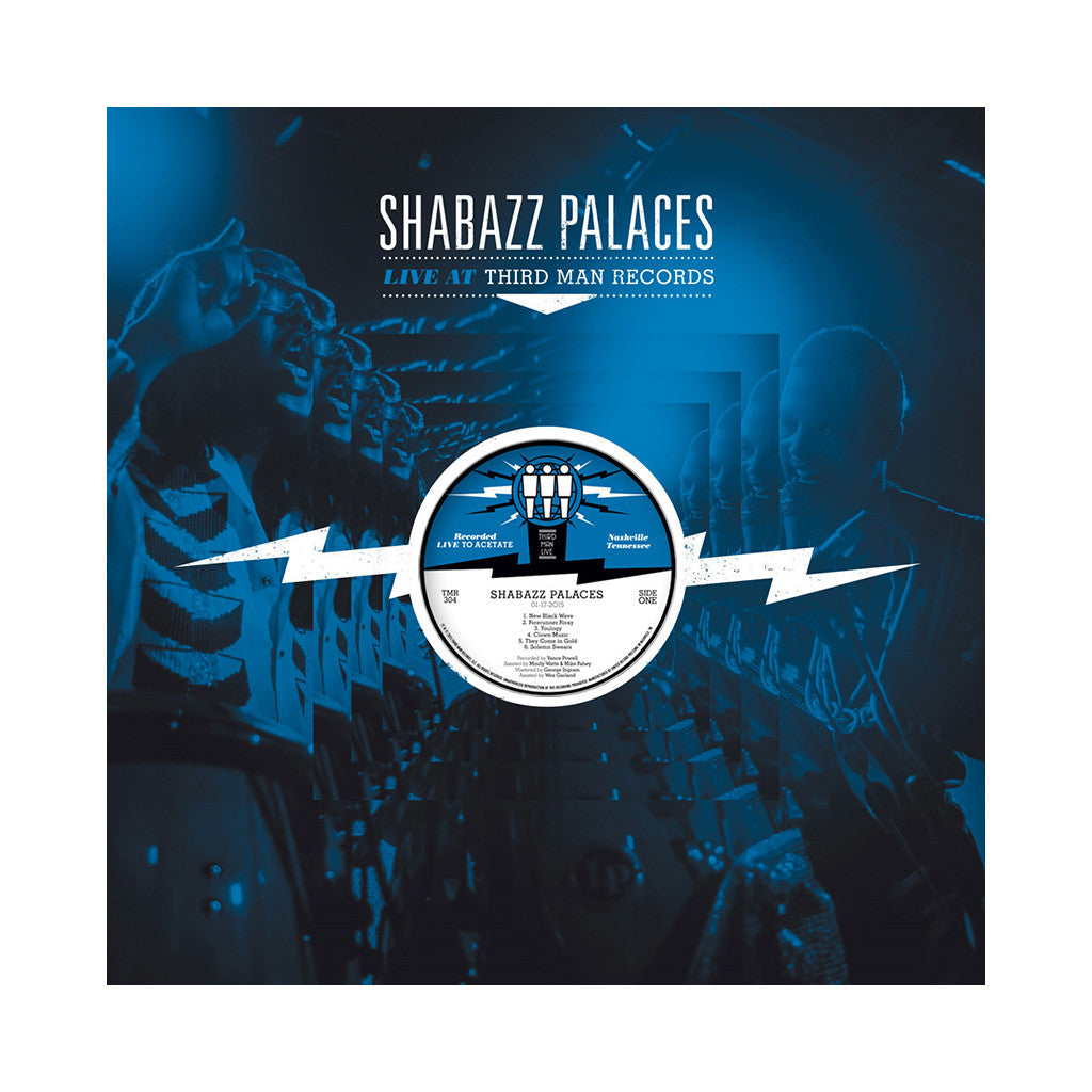 Shabazz Palaces - 'Live At Third Man Records' [(Black) Vinyl LP]