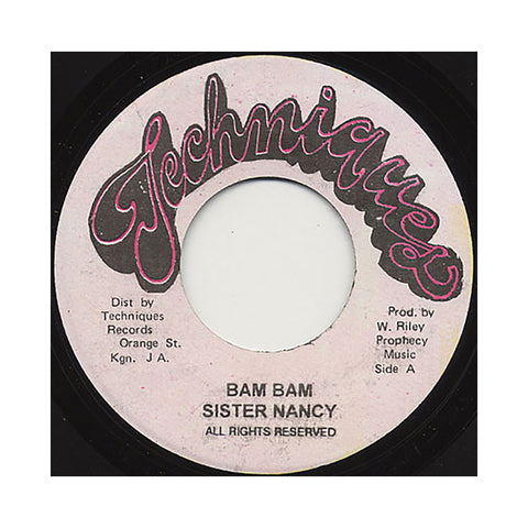 Sister Nancy - 'Bam Bam' [Streaming Audio]