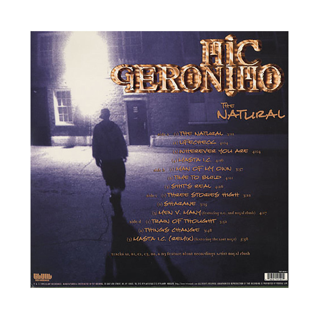 <!--019950101008019-->Mic Geronimo - 'The Natural' [(Black) Vinyl [2LP]]