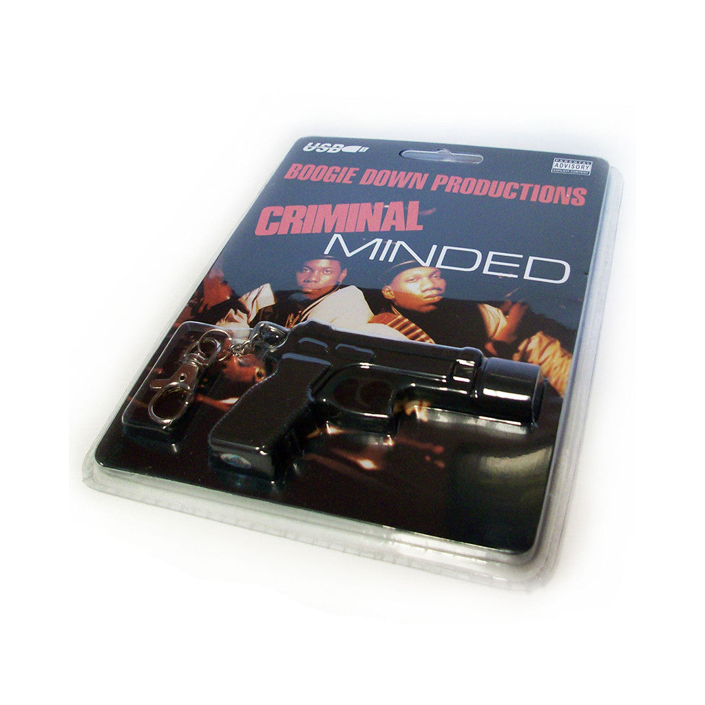<!--020090407016652-->Boogie Down Productions - 'Criminal Minded - 1GB' [USB Memory Drive]