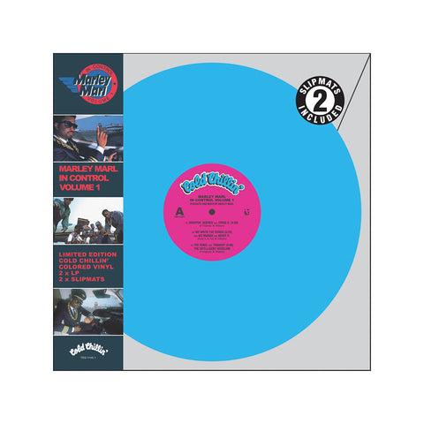 "[""Marley Marl - 'In Control Vol. 1: The Ultimate Collector's Edition' [(Pink + Blue) Vinyl [2LP]]""]"