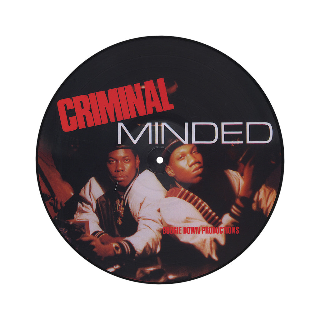 <!--020100518021725-->Boogie Down Productions - 'Criminal Minded' [(Picture Disc) Vinyl LP]