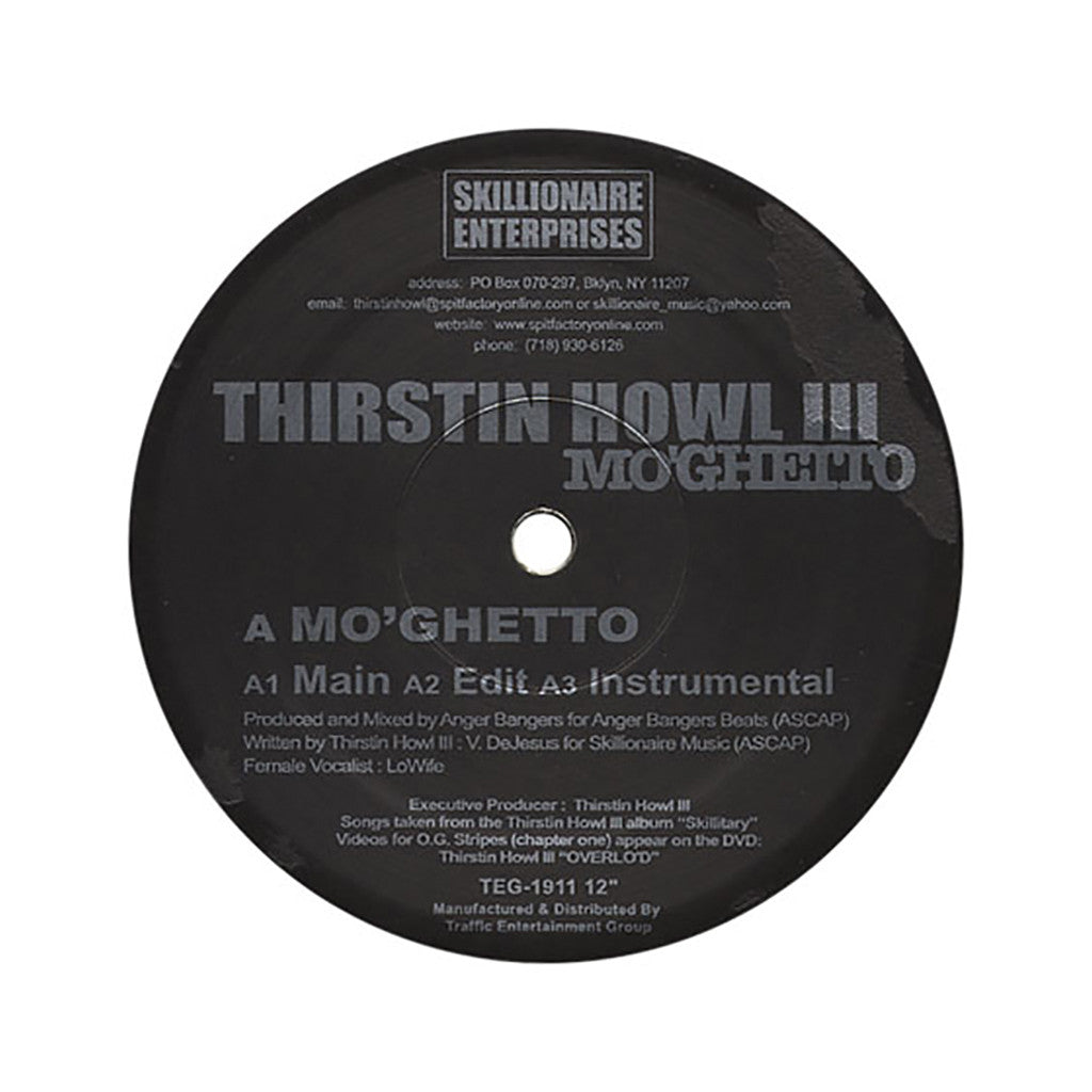 <!--2004091317-->Thirstin Howl III - 'O.G. Stripes (Chapter One)' [Streaming Audio]