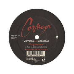 "Cormega - 'Tony Montana/ Tha Machine' [(Black) 12"" Vinyl Single]"