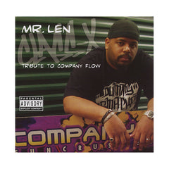 <!--020031125002044-->Mr. Len Presents Company Flow - 'Class-X (Tribute To Company Flow)' [CD]